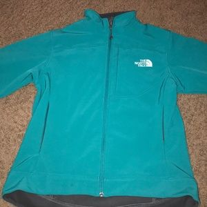 Teal North Face